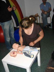 Bilder vom Erste-Hilfe am Kind Kurs 10