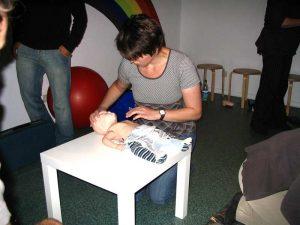 Bilder vom Erste-Hilfe am Kind Kurs 3
