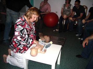 Bilder vom Erste-Hilfe am Kind Kurs 4