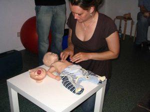 Bilder vom Erste-Hilfe am Kind Kurs 6