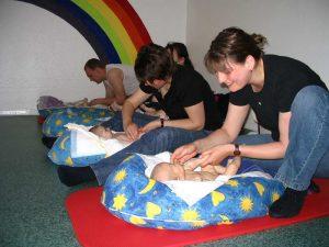 Mütter beim DELFI Kurs